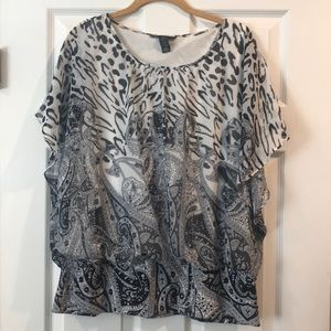 Style & Co Flutter Top
